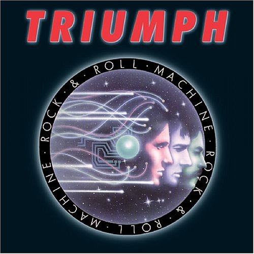 Rock And Roll Machine by TRIUMPH album cover