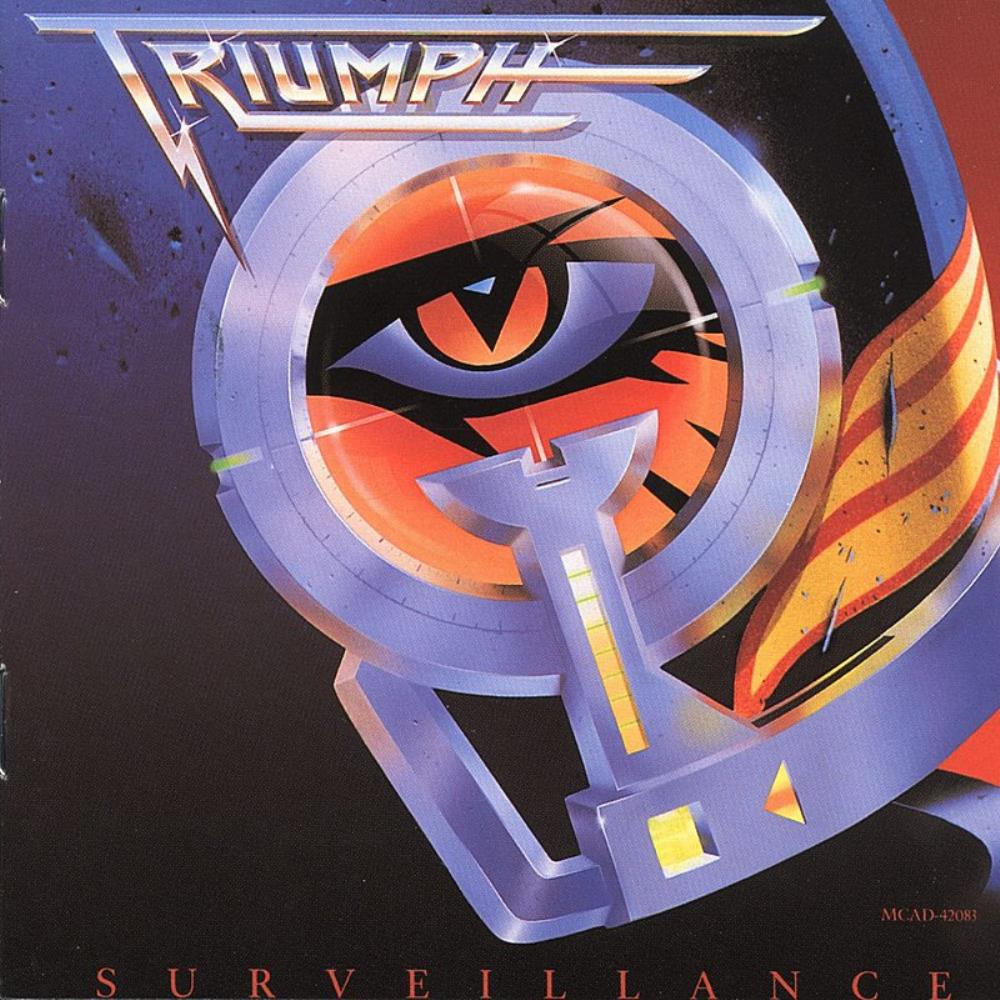 Triumph - Surveillance CD (album) cover
