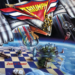 Triumph Just a Game album cover