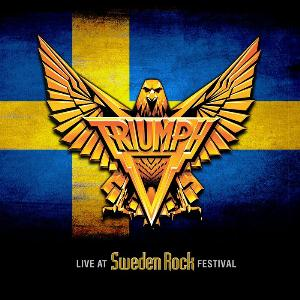 Triumph Live at Sweden Rock Festival album cover