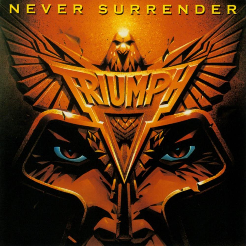 Triumph - Never Surrender CD (album) cover