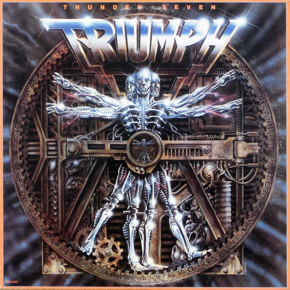 Thunder Seven by TRIUMPH album cover