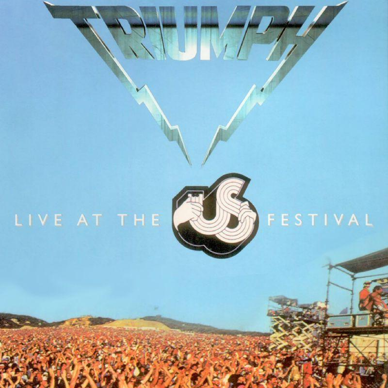 Triumph Live at the US Festival album cover
