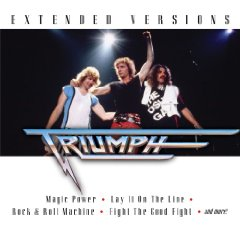 Triumph Extended Versions Live album cover
