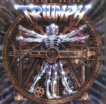 Triumph - Thunder Seven CD (album) cover