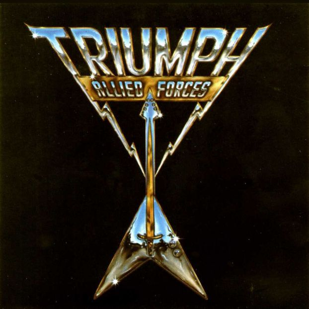 Triumph - Allied Forces CD (album) cover