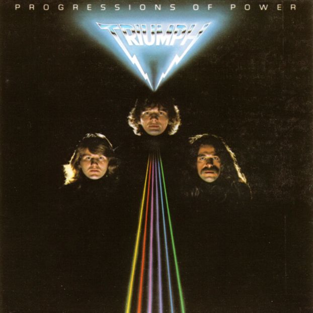 Triumph Progressions of Power album cover