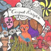 The Carpet Knights - Lost And So Strange Is My Mind CD (album) cover