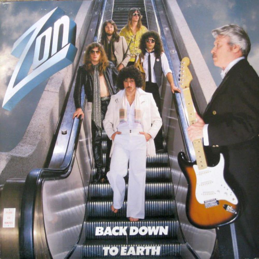 Back Down To Earth by ZON album cover