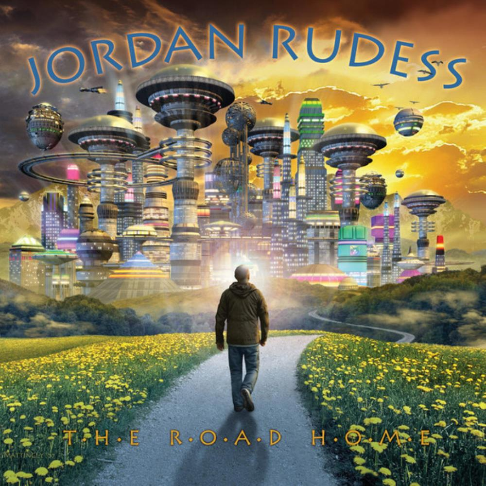 The Road Home by RUDESS, JORDAN album cover