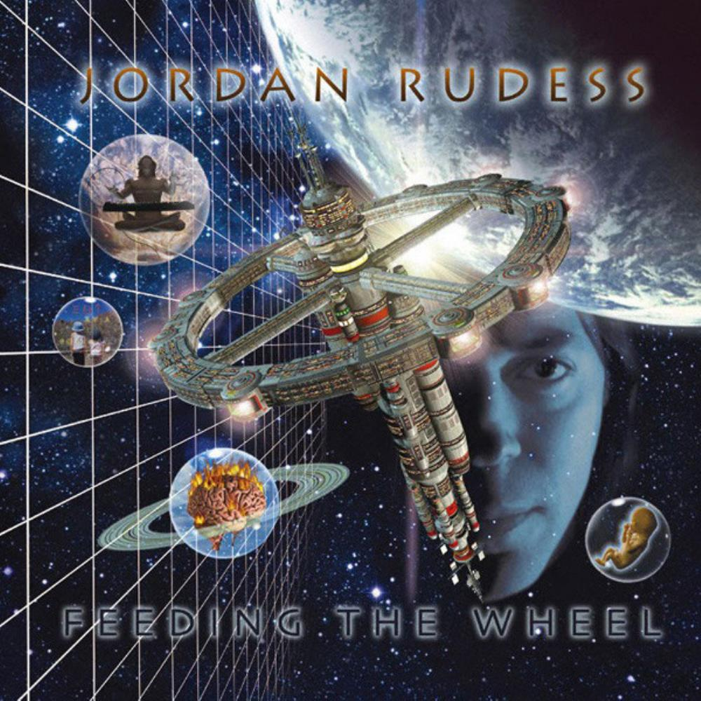 Jordan Rudess - Feeding The Wheel CD (album) cover