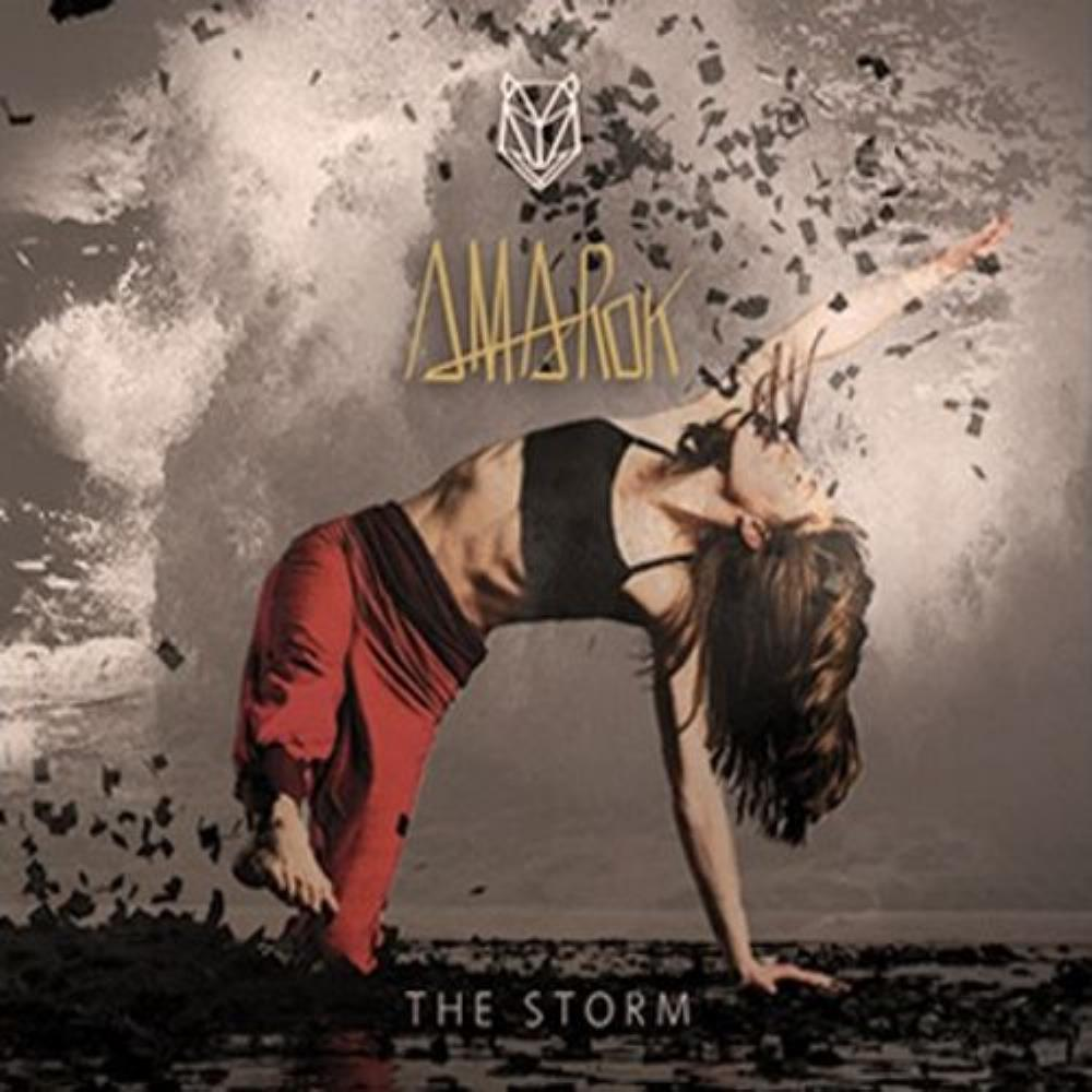 The Storm by AMAROK album cover