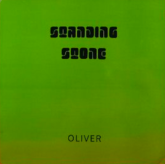 Standing Stone by OLIVER album cover