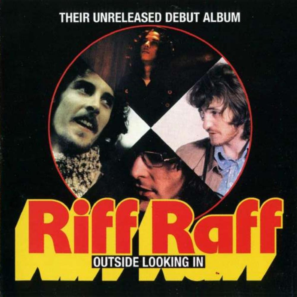 Outside Looking In by RIFF RAFF album cover