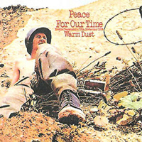 Peace For Our Time by WARM DUST album cover