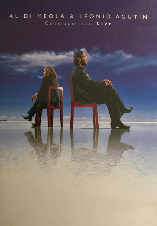 Al Di Meola & Leonid Agutin: Cosmopolitan Live by DIMEOLA, AL album cover