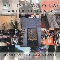 Al Di Meola Heart Of The Immigrants  album cover