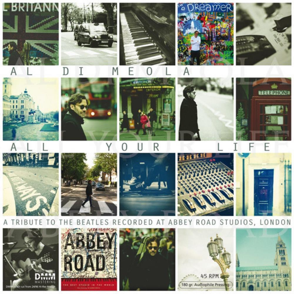 Al Di Meola All Your Life - A Tribute To The Beatles album cover
