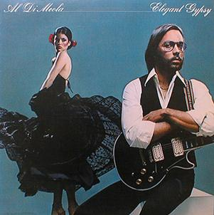 Elegant Gypsy by DI MEOLA, AL album cover