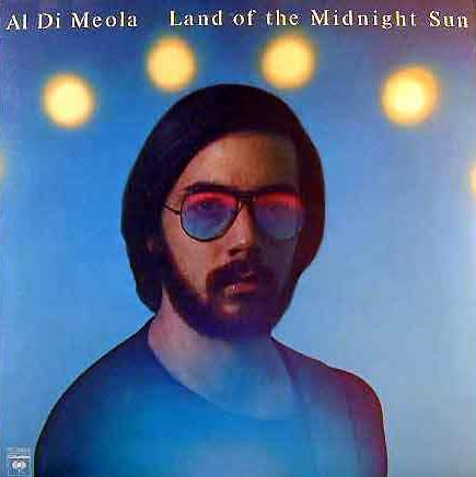Land Of The Midnight Sun by DIMEOLA, AL album cover