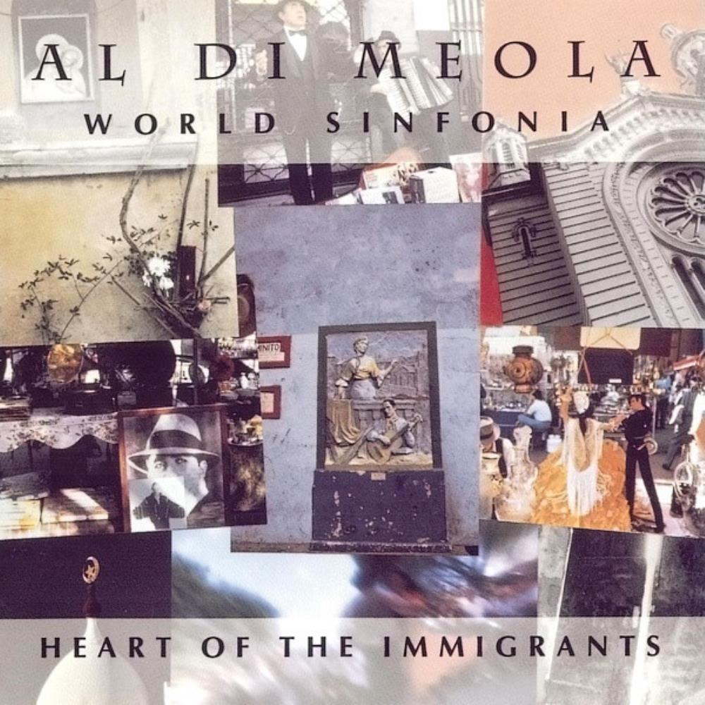 Al Di Meola World Sinfonia: Heart Of The Immigrants album cover