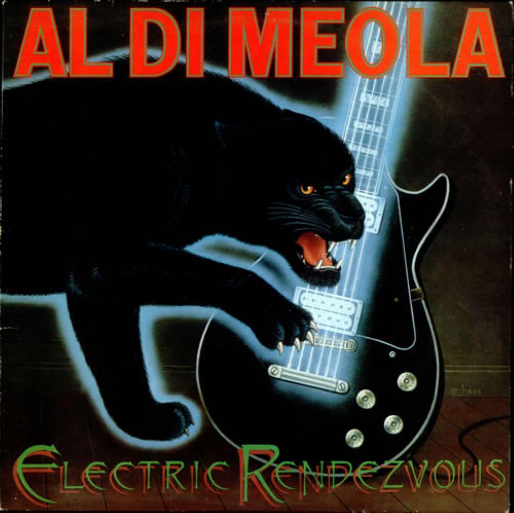 Electric Rendezvous by DIMEOLA, AL album cover