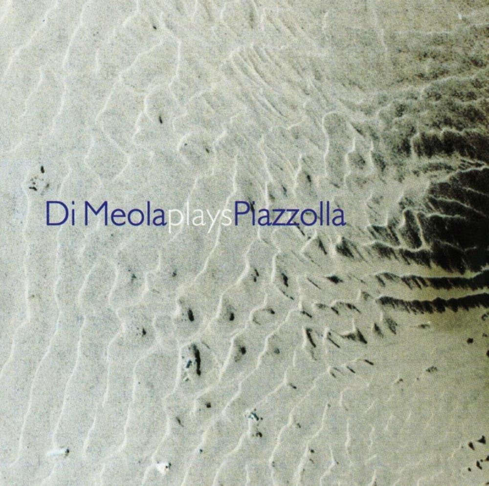 Al Di Meola Di Meola Plays Piazzolla album cover