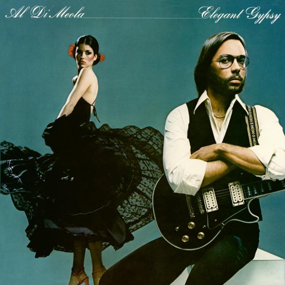 Elegant Gypsy by DIMEOLA, AL album cover