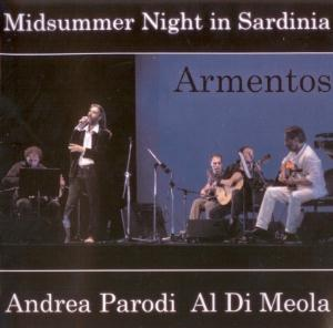 Al Di Meola - Andrea Parodi & Al Di Meola: Midsummer Night In Sardinia- Armentos CD (album) cover
