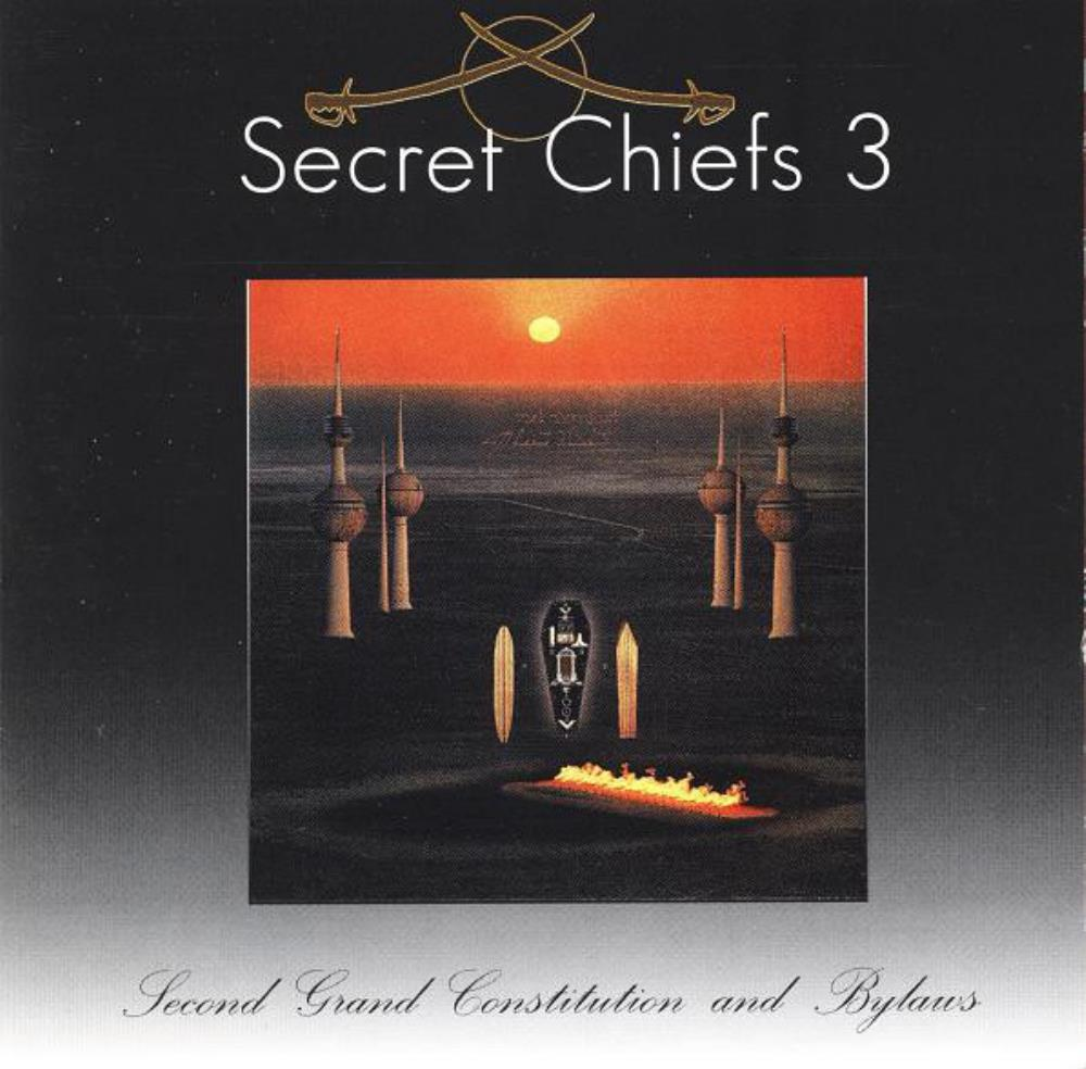 Secret Chiefs 3 - Second Grand Constitution And Bylaws - Hurqalya CD (album) cover