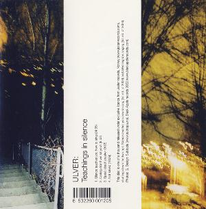 Ulver - Teachings in Silence CD (album) cover