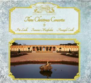 Three Christmas Concertos by LINDH PROJECT, P�R album cover