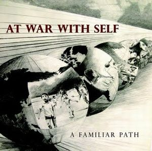 At War With Self A Familiar Path album cover