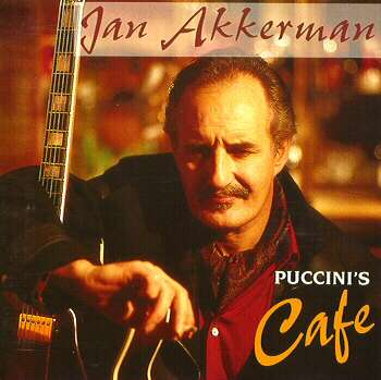 Jan Akkerman - Puccini's Cafe CD (album) cover