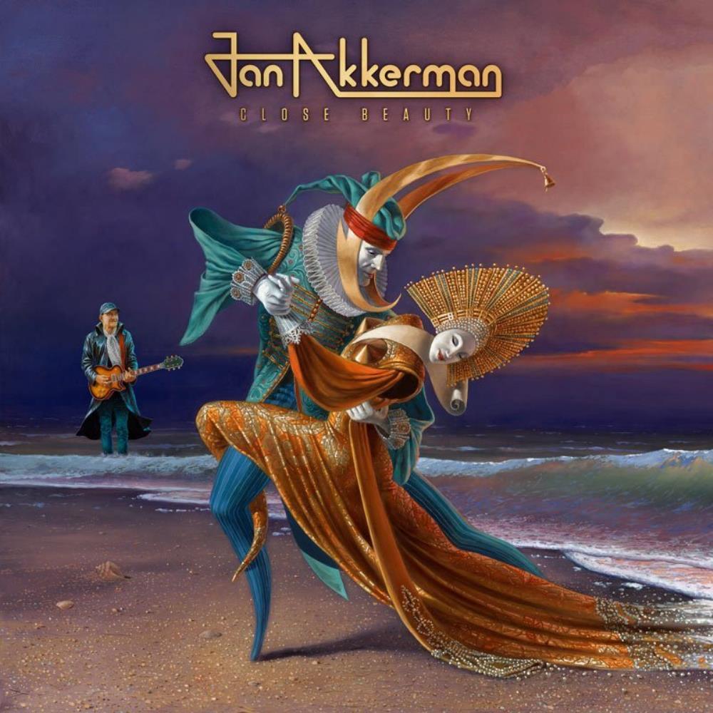 Close Beauty by AKKERMAN, JAN album cover