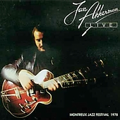 Jan Akkerman LIVE - Montreux Jazz festival - 1978 album cover