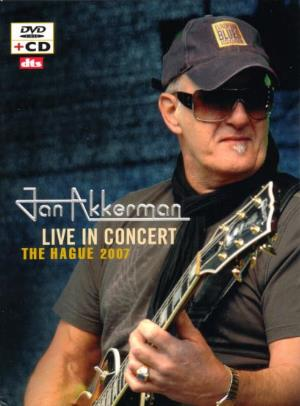 Live in Concert, The Hague 2007 by AKKERMAN, JAN album cover