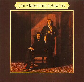 Jan Akkerman - ELI (with Kaz Lux) CD (album) cover