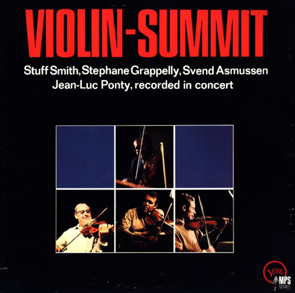 Jean-Luc Ponty - Violin-Summit CD (album) cover