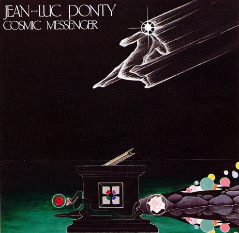 Jean-Luc  Ponty Cosmic Messenger album cover