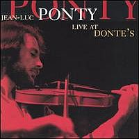 Jean-Luc  Ponty Live at Donte's  album cover