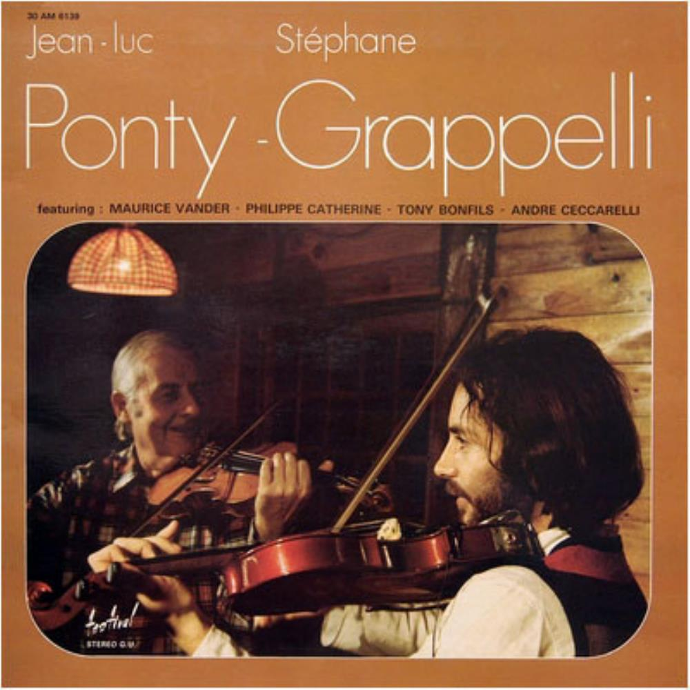 Ponty - Grappelli by PONTY, JEAN-LUC album cover
