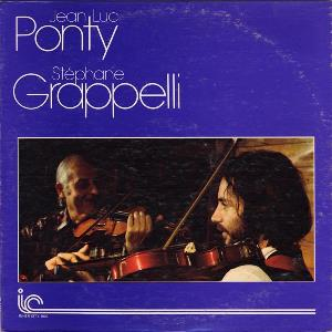 Jean-Luc  Ponty Jean-Luc Ponty and Stephane Grappelli album cover