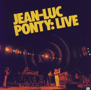 Jean-Luc Ponty: Live by PONTY, JEAN-LUC  album cover