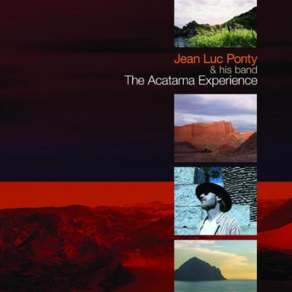Jean-Luc Ponty - Jean Luc Ponty & His Band: The Atacama Experience CD (album) cover