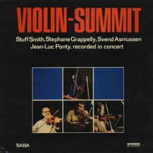 Jean-Luc  Ponty Jazz Violin Summit (with Stephane Grappelli and Stuff Smith) album cover