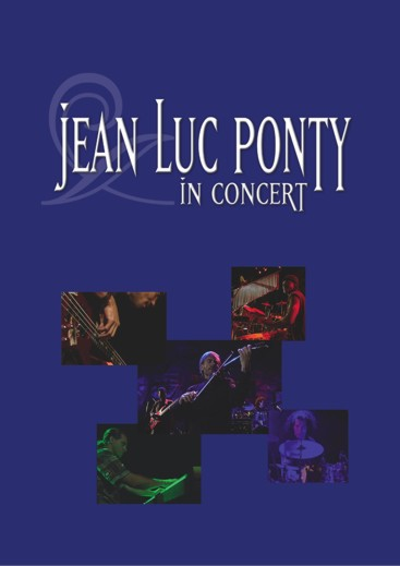 Jean-Luc  Ponty - Jean-Luc Ponty In Concert CD (album) cover