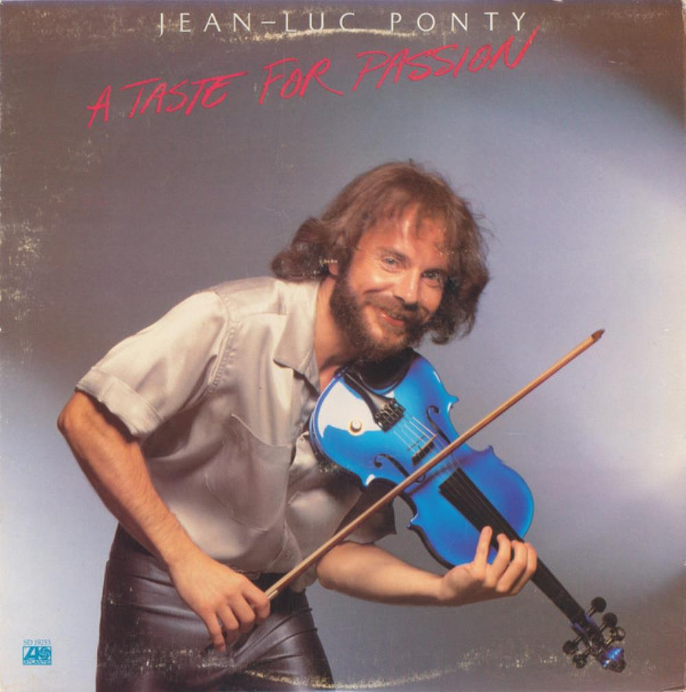 Jean-Luc Ponty A Taste For Passion album cover
