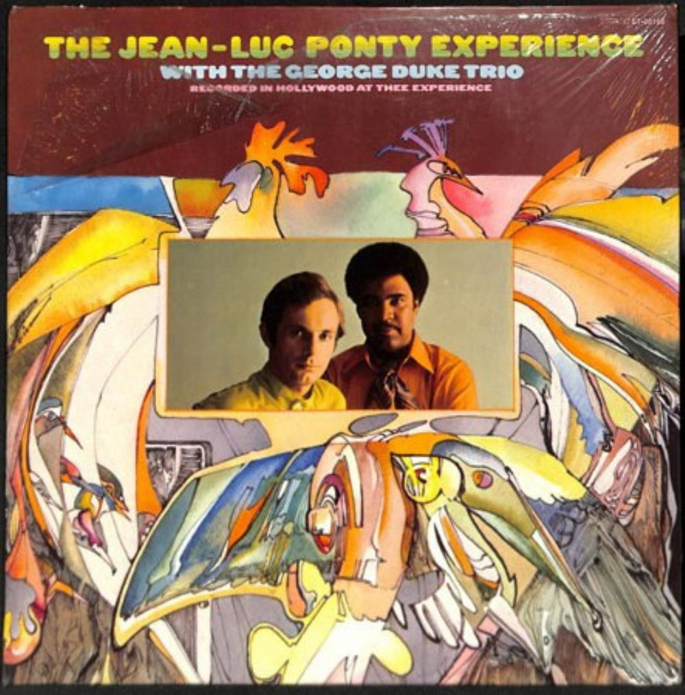 Jean-Luc Ponty - The Jean Luc Ponty Experience - With The George Duke Trio [Aka: Live In Los Angeles] CD (album) cover