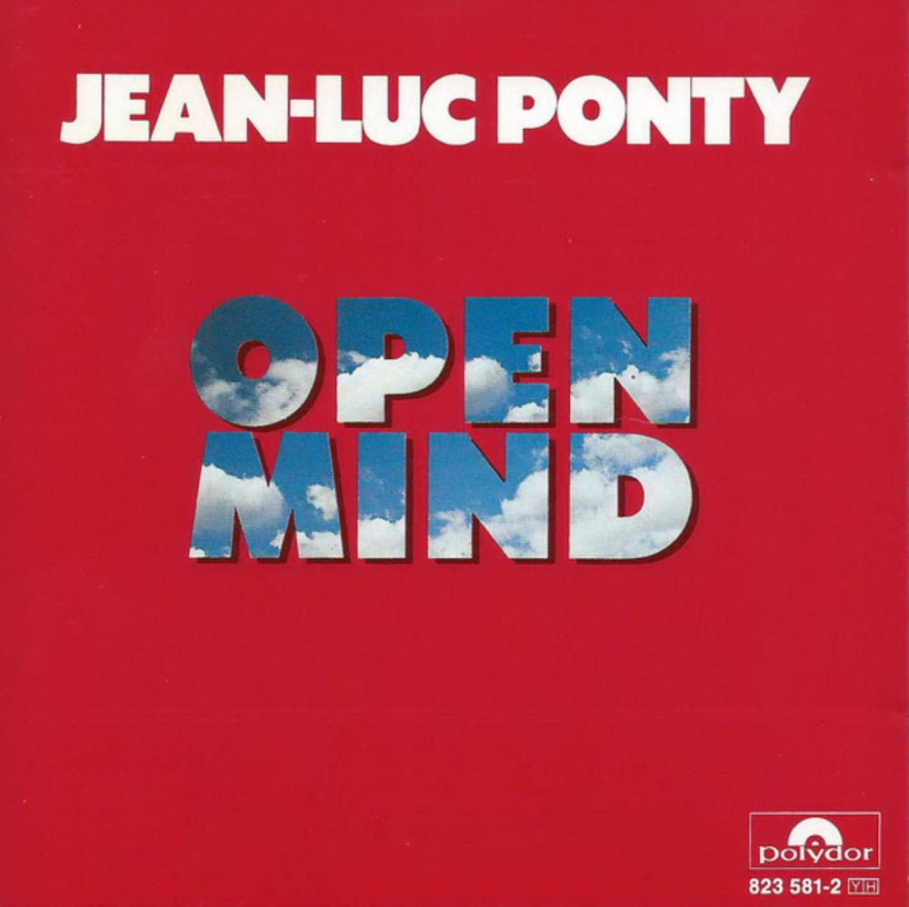 Jean-Luc  Ponty Open Mind album cover